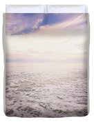 To The Ocean White With Foam Duvet Cover