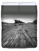 To The Rock Duvet Cover