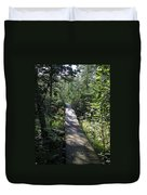 To The Trout Stream Duvet Cover