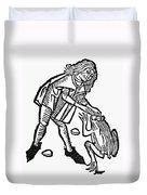 Toadstone, 1491 Duvet Cover