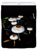 Toadstools V4 Duvet Cover by Douglas Barnard
