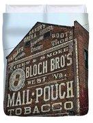 Tobacciana - Mail Pouch Tobacco Duvet Cover