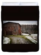 Tobacco Barn Duvet Cover