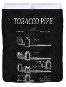 Tobacco Pipe Patent 4 Duvet Cover
