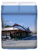 Tobyhanna Train Station Duvet Cover
