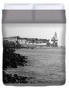 Port Of Tocopilla Chile Duvet Cover