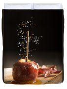 Toffee Apple Duvet Cover