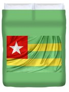 Togo Flag Duvet Cover
