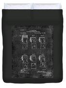 Toilet Paper Patent 040 Duvet Cover