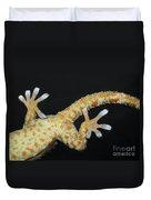 Tokay Gecko Feet Duvet Cover