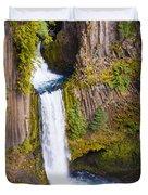 Toketee Falls Duvet Cover