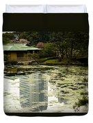 Tokyo Reflection Duvet Cover