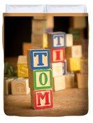 Tom - Alphabet Blocks Duvet Cover