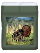 Tom Turkey Duvet Cover by Jaki Miller