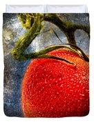 Tomato On A Vine Duvet Cover