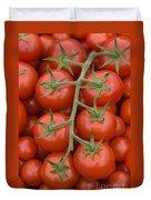 Tomato On The Vine Duvet Cover