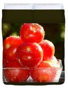 Tomatoes 2 Duvet Cover