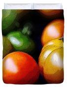 10044 Tomatoes Duvet Cover