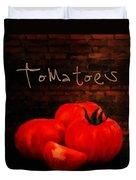 Tomatoes II Duvet Cover