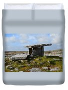Tomb In Ireland Duvet Cover