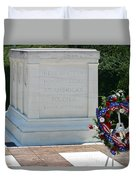 Tomb Of The Unknown Duvet Cover