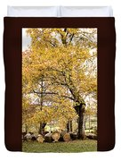 Tombs Under Oaktree Duvet Cover