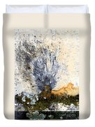 Tombstone Abstract Duvet Cover