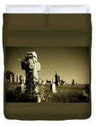Tombstone Ivy Duvet Cover