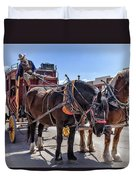 Tombstone Stagecoach 2 Duvet Cover