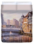 Tonbridge Castle Duvet Cover