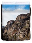 Tongue River Canyon Duvet Cover