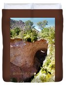 Tonto Natural Bridge Duvet Cover