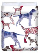 Top Dogs Duvet Cover
