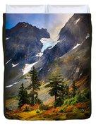 Top Of Cascade Pass Duvet Cover