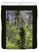 Top Of The Glades Duvet Cover