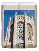 Top Of The Singing Tower House Duvet Cover