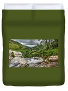 Top Of The Waterfall Duvet Cover