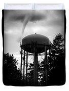 Tornado Tower Duvet Cover