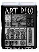Toronto Art Deco 1 Duvet Cover