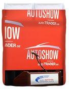 Toronto Autoshow Duvet Cover