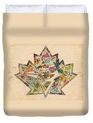 Toronto Blue Jays Poster Art Duvet Cover