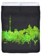 Toronto Canada Duvet Cover