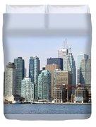 Toronto Downtown Duvet Cover