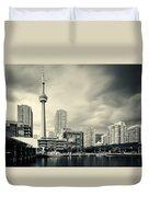 Toronto Harbourfront Duvet Cover