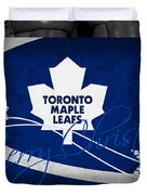 Toronto Maple Leafs Christmas Duvet Cover