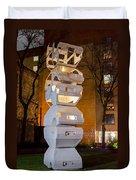 Toronto Sculpture Garden  7d01024 Duvet Cover