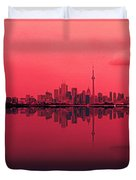 Toronto With A Twist Duvet Cover