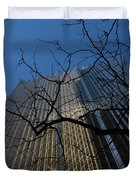 Toronto's Golden Bank - Royal Bank Plaza Downtown Duvet Cover