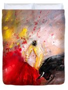 Toroscape 48 Duvet Cover by Miki De Goodaboom
