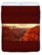 Toroweap Point, Grand Canyon, Arizona Duvet Cover